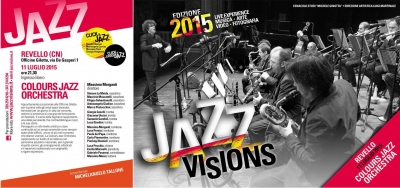 Colours Jazz Orchestra @ Jazz Visions, Revello (CN)